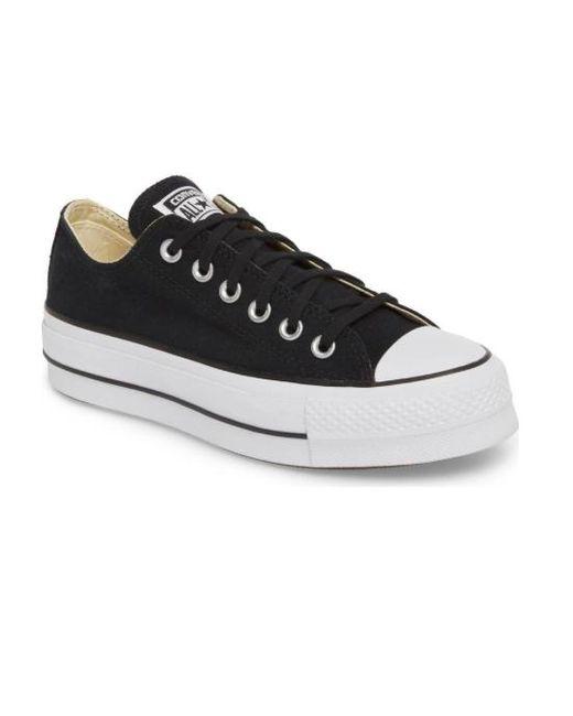 e7c3556918f Lyst - Converse Women Chuck Taylor All Star Lift Platform Shoes ...