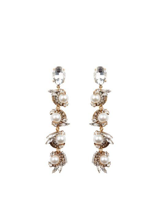 Erickson Beamon - Metallic Delicate Balance Drop Earrings - Lyst