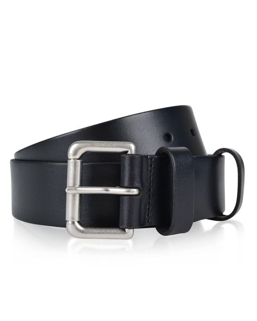 Polo Ralph Lauren - Black Logo Patch Belt for Men - Lyst