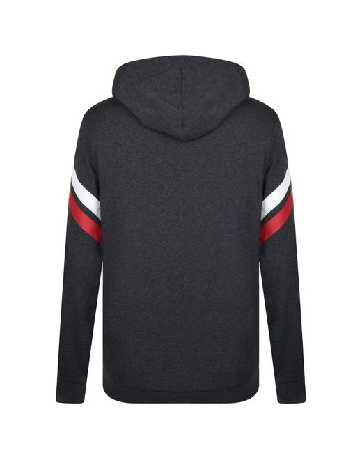 90fa2f75c ... BOSS by Hugo Boss - Gray Authentic Hooded Sweatshirt for Men - Lyst ...