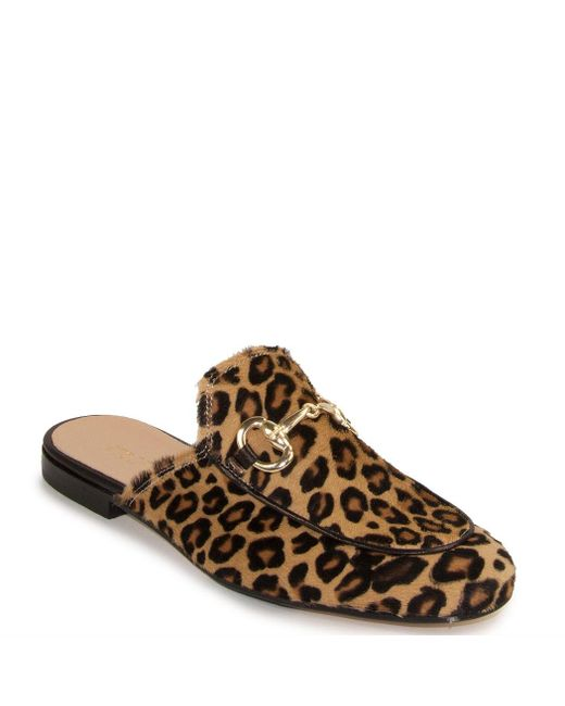 275 Central - Brown Leopard Printed Mule - Lyst