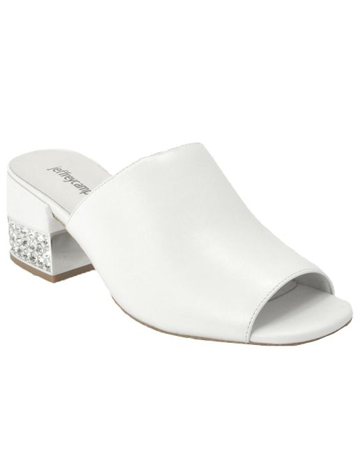 Jeffrey Campbell - White Suede Embellished - Lyst