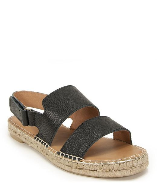 275 Central - Natural Flat Sandal - Lyst