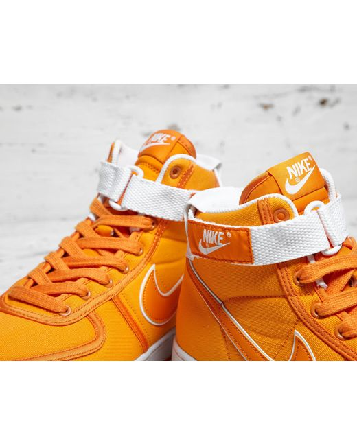 ... Nike | Orange Vandal High Supreme Canvas Qs for Men | Lyst ...