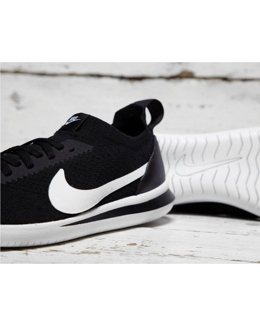 9f0c97b432b9 ... Nike - Black Cortez Flyknit for Men - Lyst ...