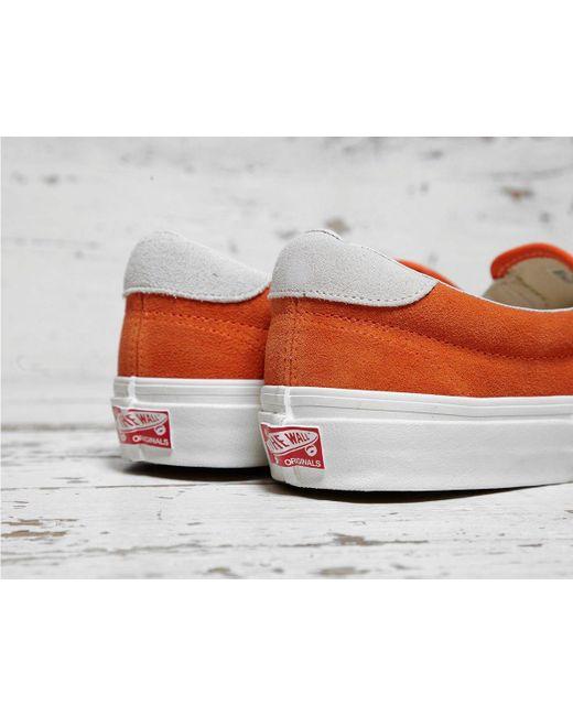 ... Vans - Orange Og Slip-on 59 Lx for Men - Lyst ... 22d6914a1