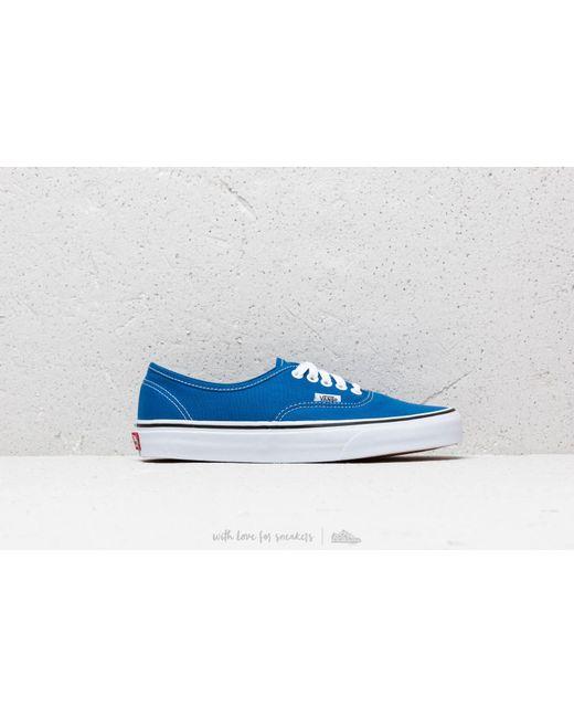 2f310799c19a ... Vans - Authentic Lapis Blue  True White for Men - Lyst ...