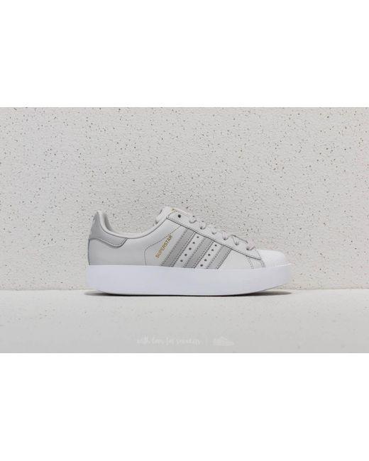 lyst adidas originali adidas superstar audace grigio w grigio / grigio audace due c8bb3e