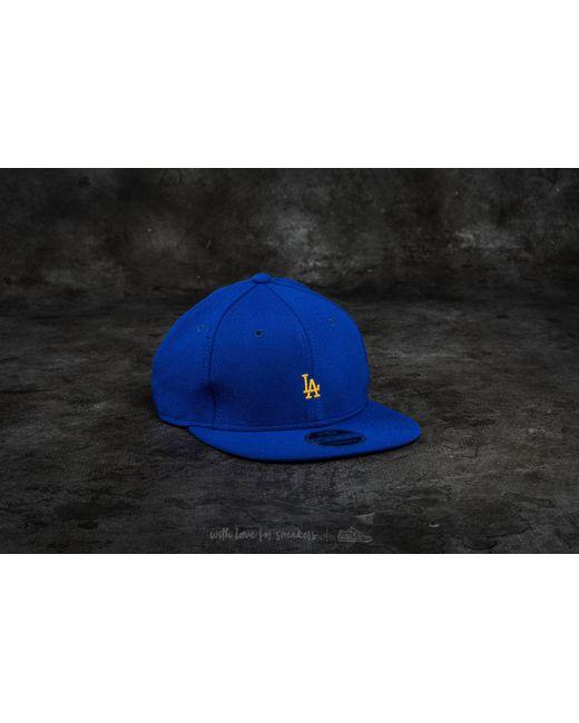 KTZ - 9ffity Border Edge Pique Los Angeles Dodgers Cap Blue for Men - Lyst