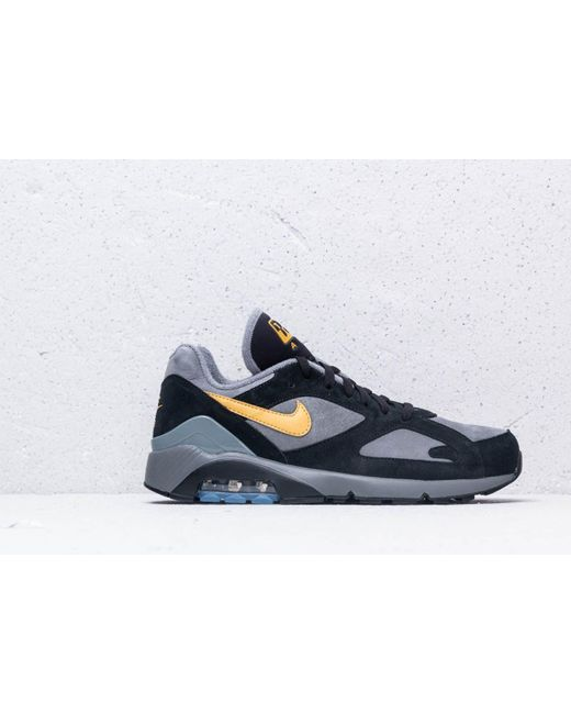 93131f5440 ... Nike - Gray Air Max 180 Cool Grey/ Wheat Gold-black for Men ...
