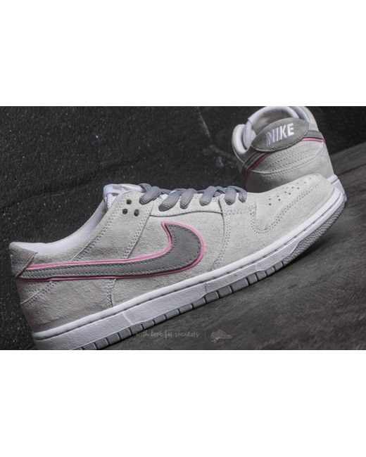best service 5edb4 0d5cf ... ishod wair nike mens sneakers uk.18828 076ab bf096  netherlands nike  multicolor sb zoom dunk low pro iw white perfect pink flt silver 3391e 0e06b
