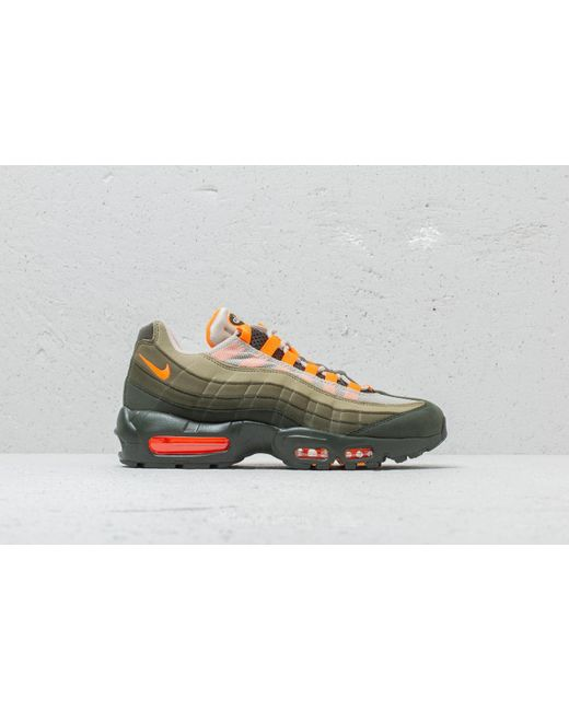 84ba82b9c5b2 ... coupon nike multicolor air max 95 og string total orange for men lyst  006e1 f87a1