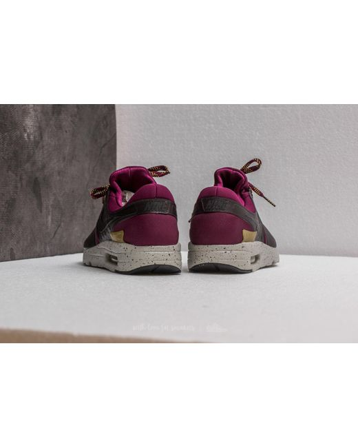 ... Nike - Multicolor Air Max Zero Se Bordeaux/ Black-velvet Brown for Men  ...