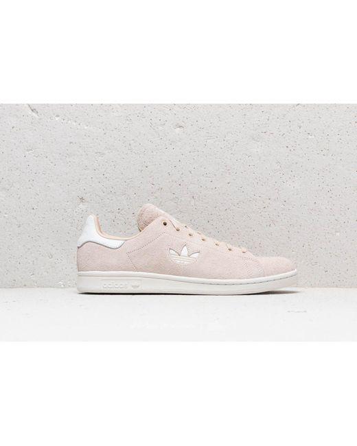 Lyst Smith Adidas Originals Adidas Stan Smith Lyst Linen/ Ftw Blanco/ Crystal b0646a