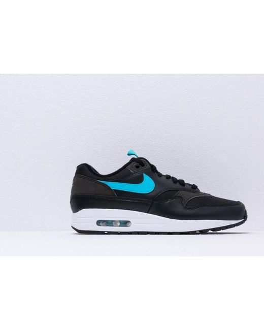 d73c76ca25c ... Nike - Air Max 1 Se Black  Blue Fury for Men - Lyst ...