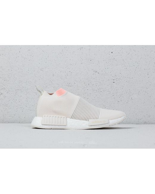 adidas Adidas NMD_CS1 Primeknit W Cloud / Cloud / Clear Orange kUoMex