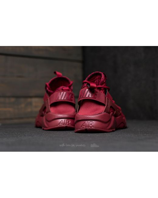the best attitude f6069 3e36b ... promo code for nike air huarache run ultra se team red black team red  lyst 59cc0