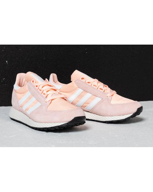 buy popular 64c97 8ed97 ... Adidas Originals - Pink Adidas Forest Grove W Clear Orange Cloud White  Core Black