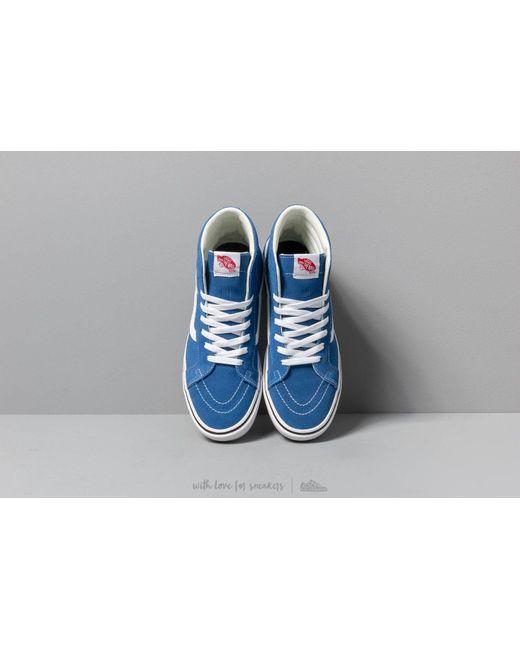 b753679b0f ... Vans - Comfycush Sk8-hi Reissue (suede  Canvas) Lapis Blue for Men ...