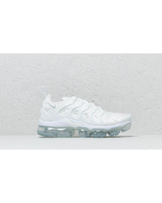 886c7bd2ad3 ... Nike - Air Vapormax Plus White  White-pure Platinum for Men - Lyst ...