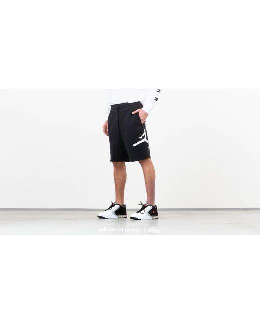 23d15ec15b90 Lyst - Nike Air Fleece Shorts Black in Black for Men