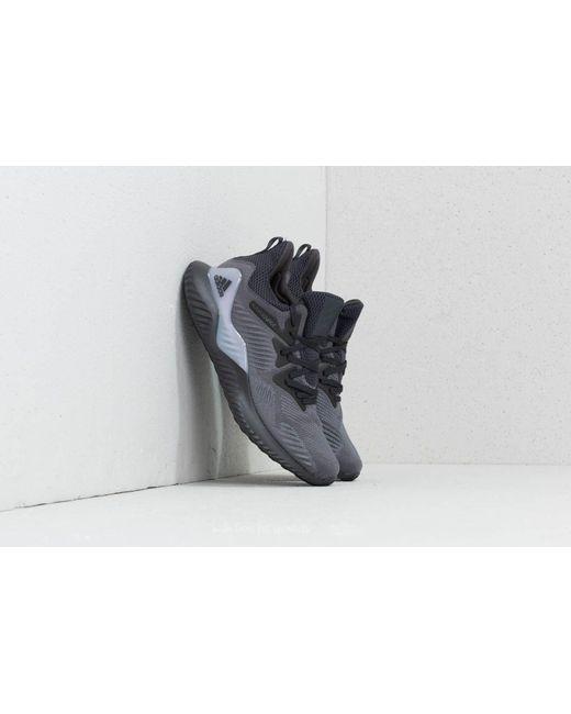 lyst footshop adidas alphabounce über w grauen vier / carbon / gd h