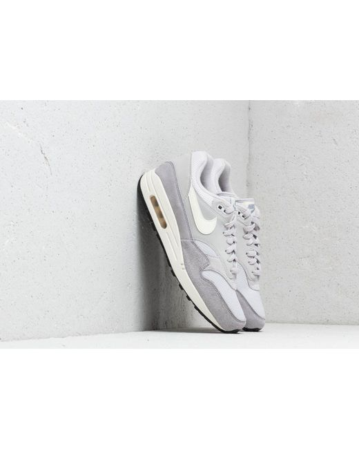 63576d73 Nike Air Max 1 Vast Grey/ Sail-sail-wolf Grey in Gray for Men - Save ...
