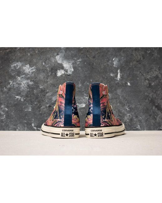 Converse Chuck Taylor All Star Hi Pale Coral/ Navy/ Egret LewObS5C