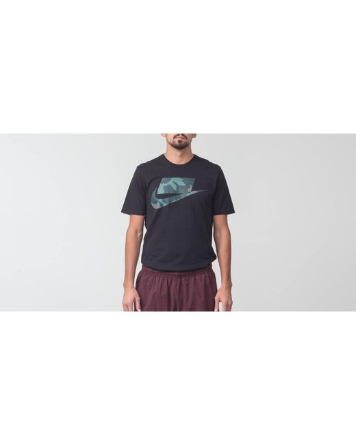 10ecef7e7 Nike Sportswear Innovation Tee Black/ Camo in Black for Men - Lyst