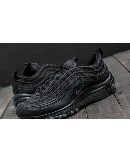 best value 44fe7 2ad0b ... Nike - Air Max 97 Wmns Black  Black-dark Grey - Lyst ...