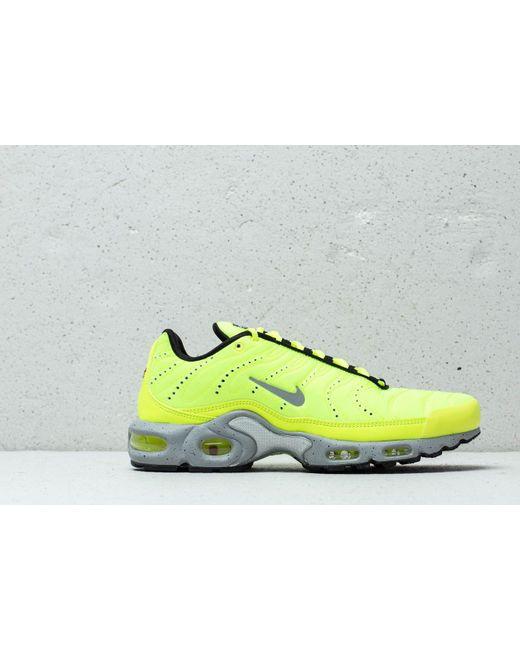 sale retailer ca069 3e988 ... Nike - Yellow Air Max Plus Premium Volt  Matte Silver-wolf Grey for Men  ...