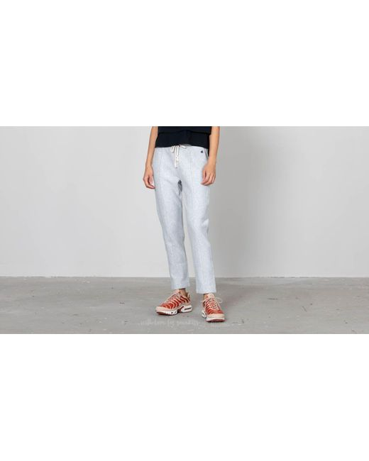 Champion - Gray Straight Hem Pants Light Oxford Grey - Lyst