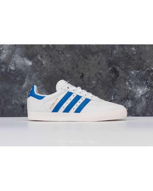 buy popular b0031 d5f0d ... Adidas Originals - Adidas 350 Ftw White Blue Off White for Men - Lyst  ...