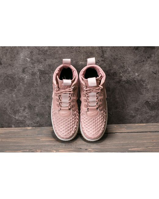 ... Nike | W Lunar Force 1 Duckboot Particle Pink/ Particle Pink | Lyst ...