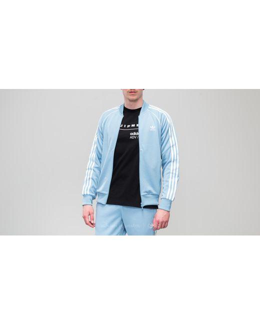 Lyst adidas Originals Adidas Superstar Track Jacket ash Azul en