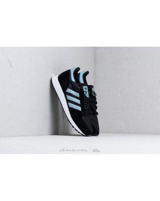 Adidas Originals - Gray Adidas Forest Grove W Core Black  Ash Grey  Chalk  White ... e6f5efa284