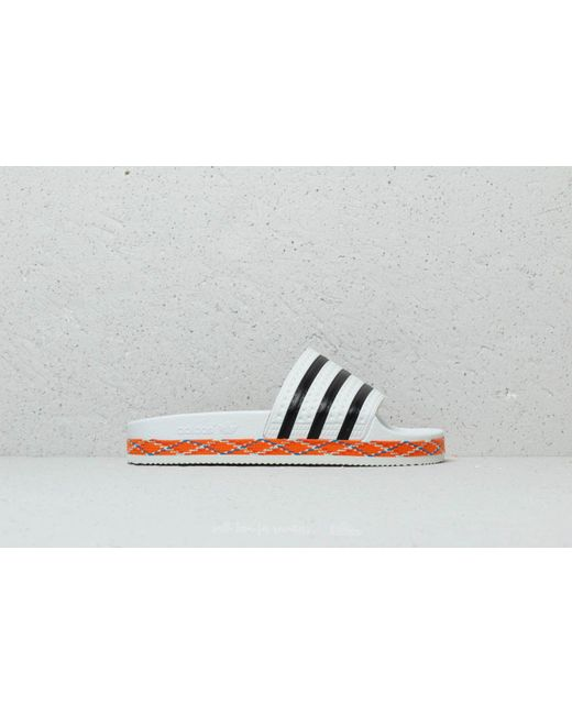 finest selection 9eeed ebc01 ... Adidas Originals - Adidas Adilette New Bold W Ftw White Core Black  Ftw White ...