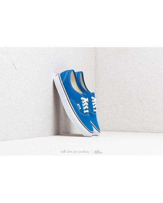 c9e72f8ae098 Lyst - Vans Authentic Lapis Blue  True White in Blue for Men