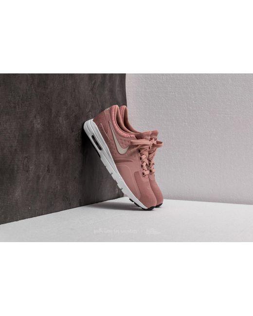 Nike - Air Max Zero W Particle Pink/ Light Bone-black - Lyst ...