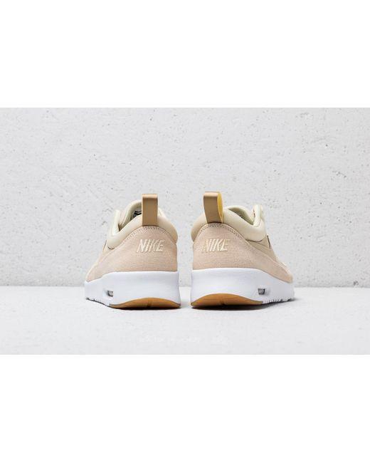 1f5bbc3b5cf ... Nike - Air Max Thea Premium Wmns Beach  Beach-metallic Gold-sail ...