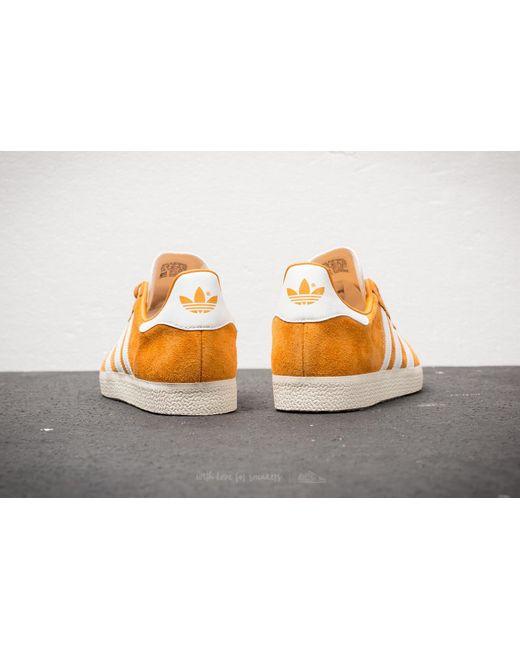 adidas Gazelle Collegiate Gold/ Ftw White/ Cream White Costo Barato Visita Descuento Gran Venta De Salida IFPHqODXn