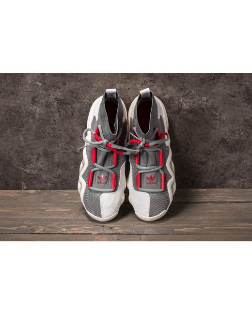 sale retailer d9ecb 5f267 ... Adidas Originals - Gray Workshop Ad Crazy 8 Grey Four Power Red ...