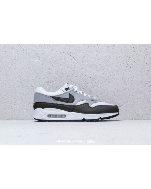 56a5b57615f Lyst - Nike Air Max 90 1 White  Cargo Khaki-black in White for Men