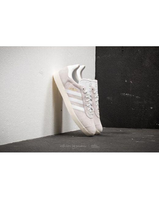 Adidas Originals - Adidas Gazelle Crystal White/ Ftw White/ Cream White for Men - Lyst