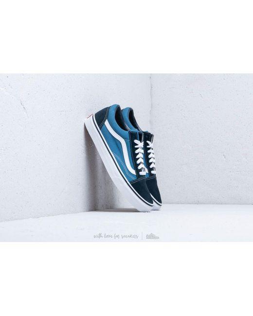 811a01d3e52 Vans - Blue Old Skool Navy for Men - Lyst ...