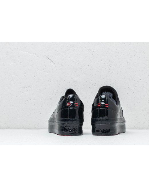 147768648cff ... Converse - One Star Platform Ox Black  Black  Black - Lyst ...