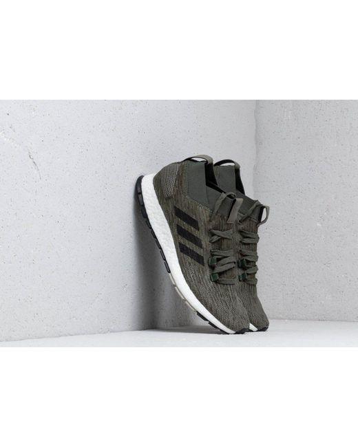 3763f6d1f Adidas Originals - Adidas Pureboost Rbl Base Green  Core Black  Sesame for  Men ...