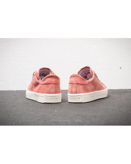 Lyst Adidas Originali Adidas Corte Vantage W Ash Rosa / Bianco