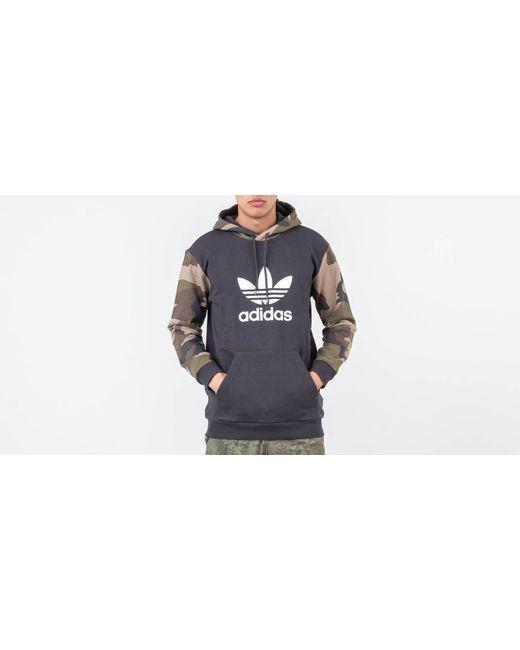 huge discount a11d2 01dbb Adidas Originals - Adidas Camo Oth Hoody Utility Black for Men - Lyst ...