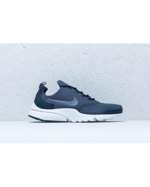 e141e0fcfca3 ... Nike - Presto Fly Se Thunder Blue  Light Carbon for Men - Lyst ...